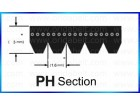 PH Section Poly V-belts