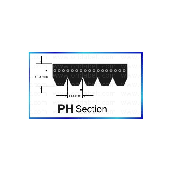 Tumble Dryer Belts China Manufacturer Ph Section Poly V