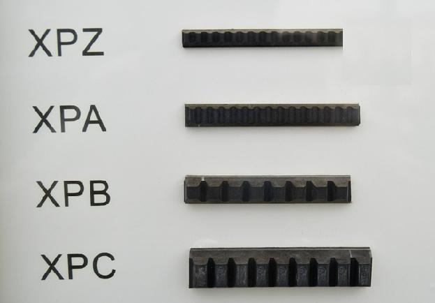 Xpz1162 9,7 X1162 LP cogged Wedge ceinture